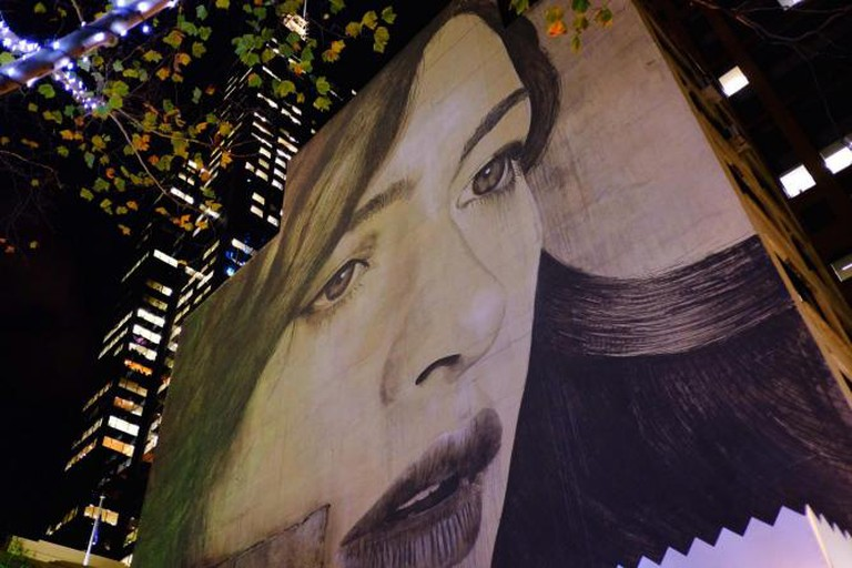 """L'Inconnue de la Rue by Rone"" 