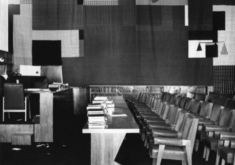 High Court in Chandigarh, India | © 1955, Lucien Hervé