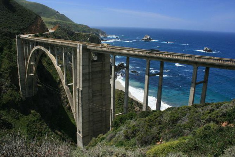 Bixby Creek Bridge, The Big Sur, California | © Supermac1961/Flickr