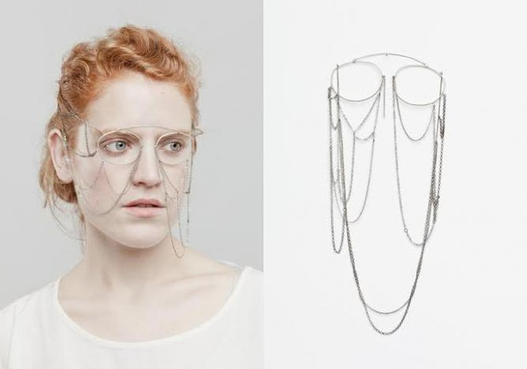 Noemi Doge, 'Will be', Mask in silver 925 and stainless steel   Photo by Baptiste Coulon