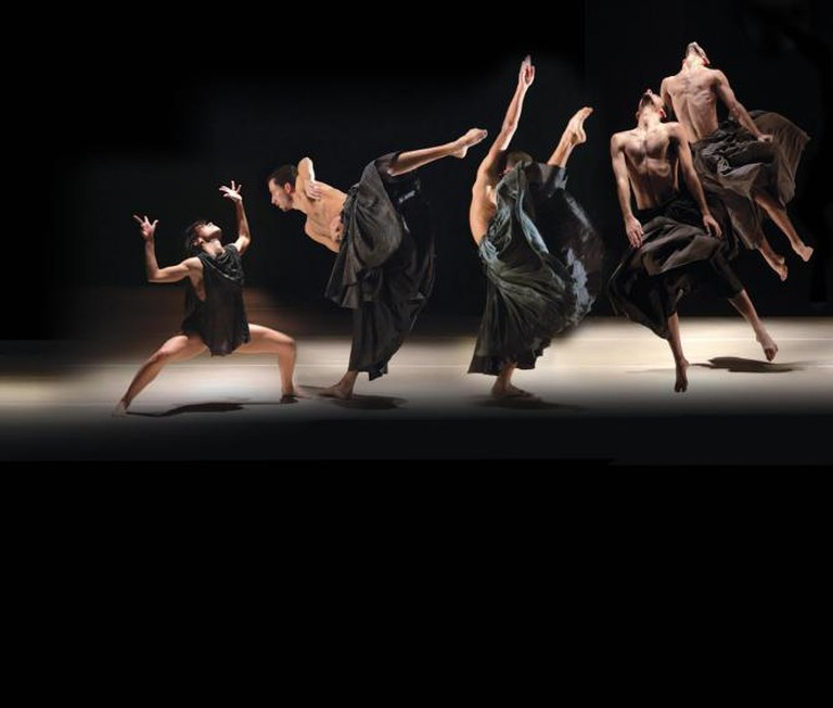 'If At All' by Rami Be'er | Photo Credit: Uri Nevo, Courtesy Kibbutz Contemporary Dance Company