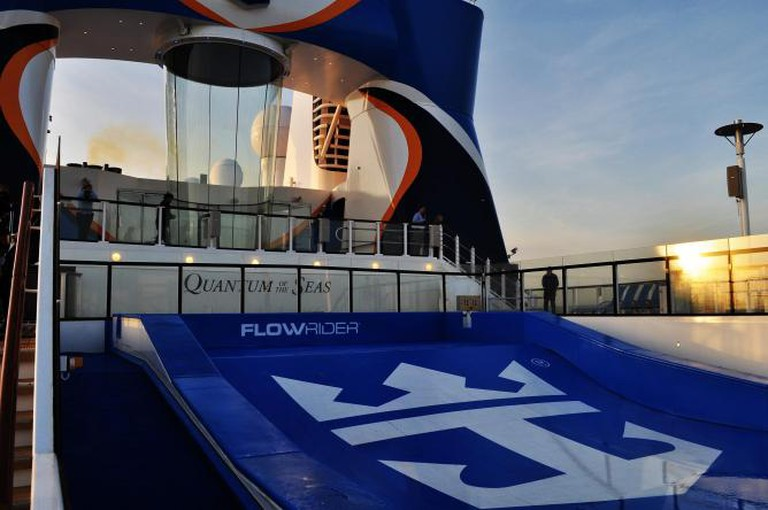 Ripcord by iFly and Flowrider | © Lucy Freeland