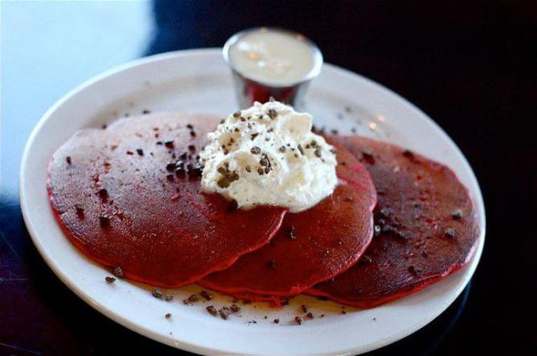 Red Velvet Pancakes | Courtesy of Babystacks Café