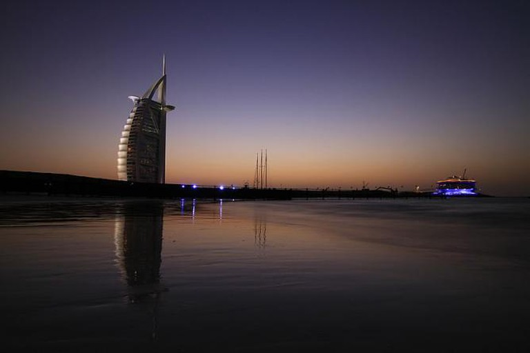 Tom Wright, Burj Al Arab