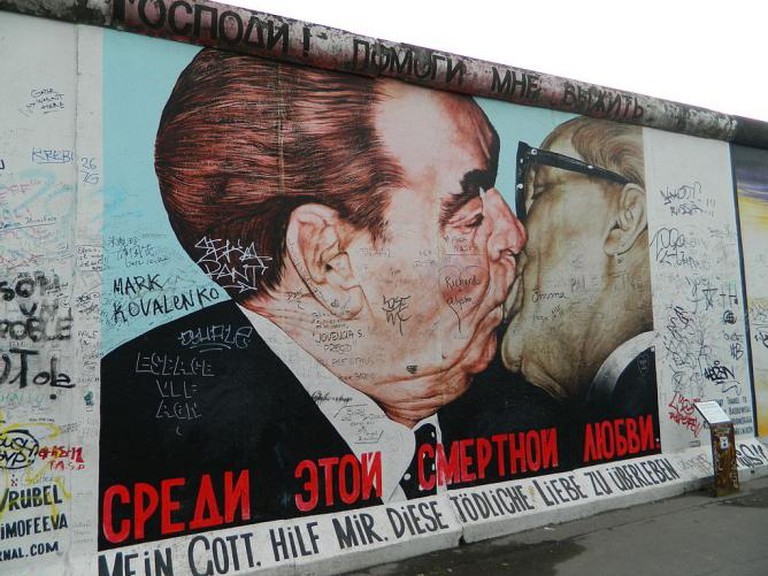 Berlin Wall, East Side Gallery - Dmitri Vladimirovich Vrubel | © Freepenguin/WikiCommons