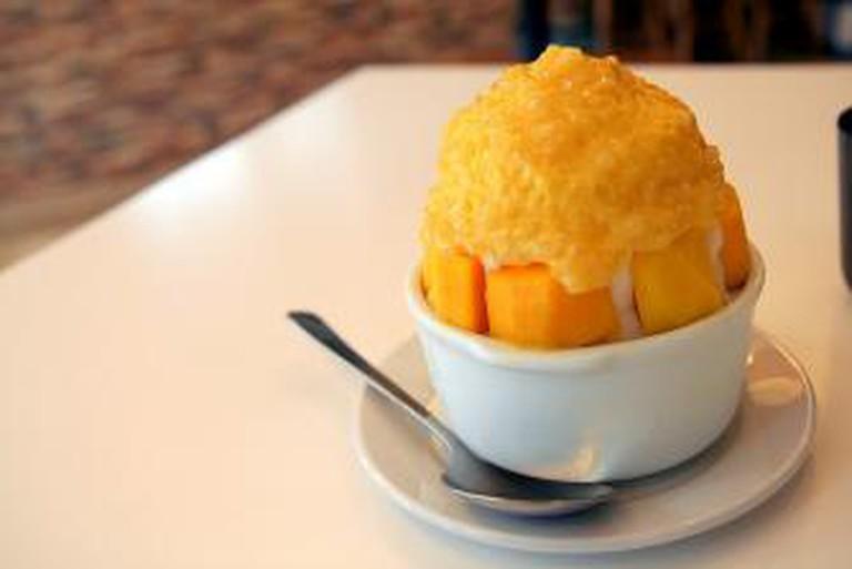 Mango Shaved Ice | Rubberduckee/Flickr