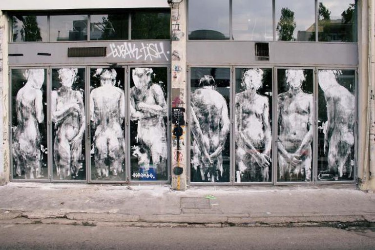 'SHAME', Athens, Greece, 2013 © courtesy of Borondo