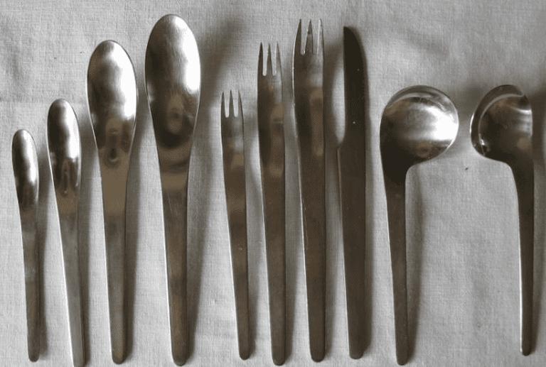 Arne Jacobsen Flatware © Hansjorn/WikiCommons