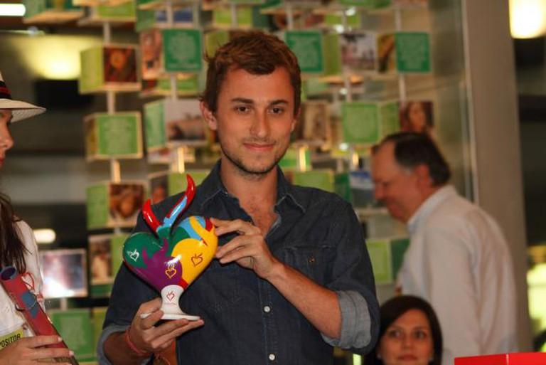 Courtesy Colombia Travel Colombia Moda 2010 Premiación Esteban Cortázar
