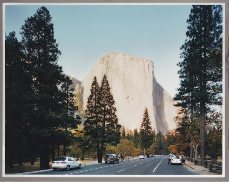 Thomas Struth, El Capitan, Yosemite National Park, 1999 | ©Playing Futures: Applied Nomadology's photostream/Flickr