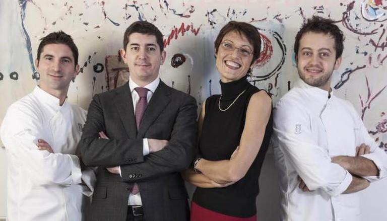 Il Luogo's Team: F. Pisani, N. Dell'Agnolo, S. Moroni, A. Negrini