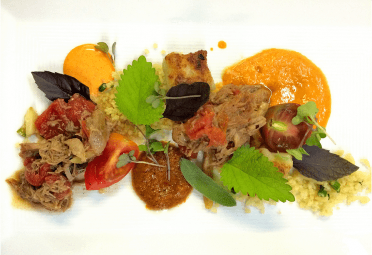Moroccan Lamb Tagine, made with local lamb | Courtesy of One Block West