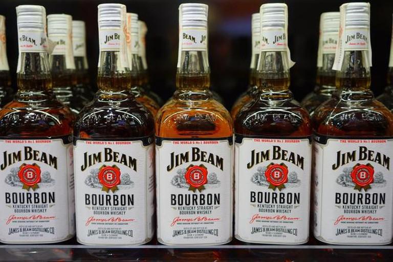 Bardstown Kentucky Bourbon Whisky Jim Beam