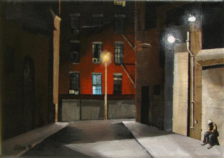 Shea Brook, Man in Alley