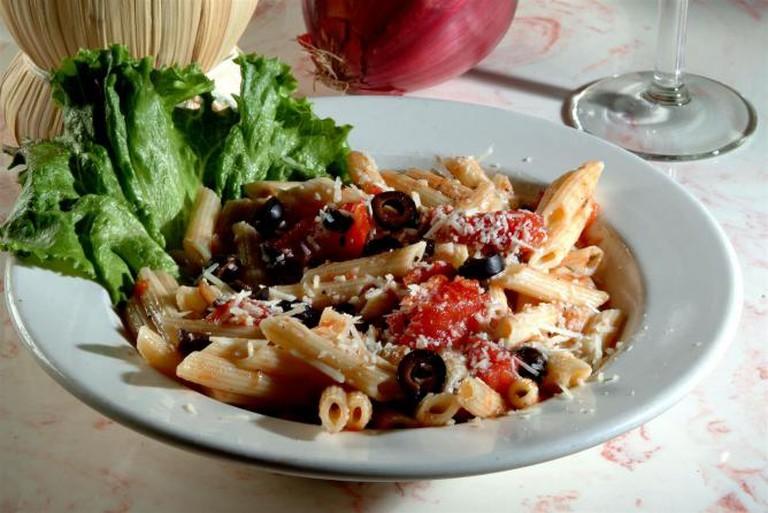 Mostaccioli della casa | Courtesy V's Italiano Ristorante