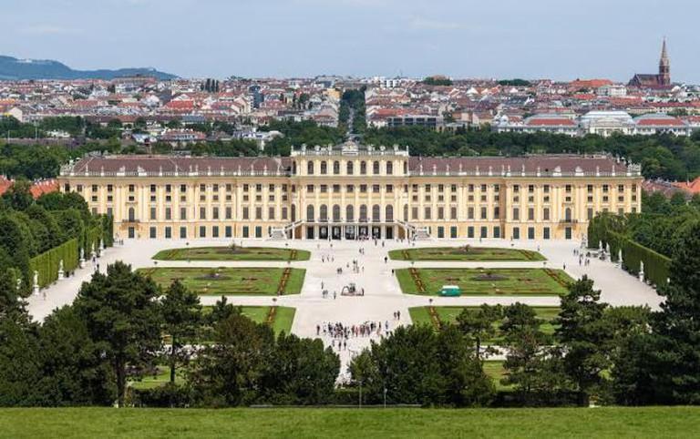 Schloss Schönbrunn / WikiCommons © Thomas Wolf