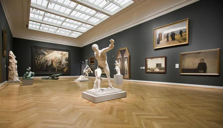 Interior of the Statensmuseum for Kunst / Courtesy of the Statensmuseum for Kunst © Karen Søndergaard