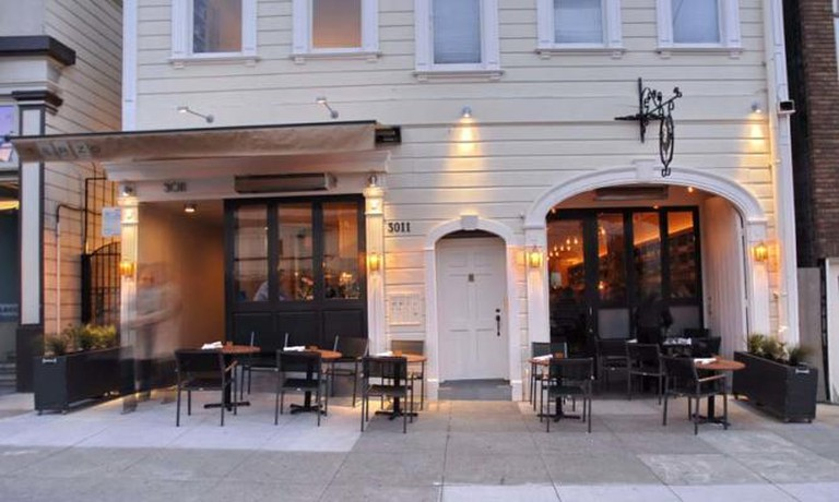 Terzo Restaurant San Francisco Pacific Heights