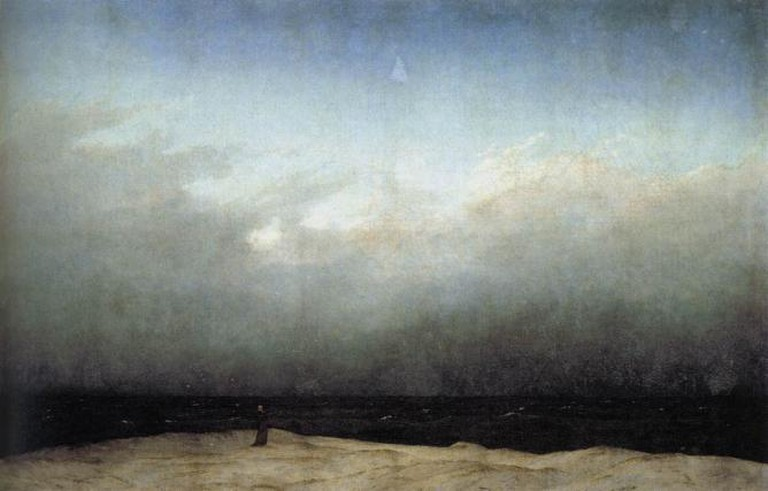 Casper David Friedrich, Monk by the Sea, 1809 | Art Resource
