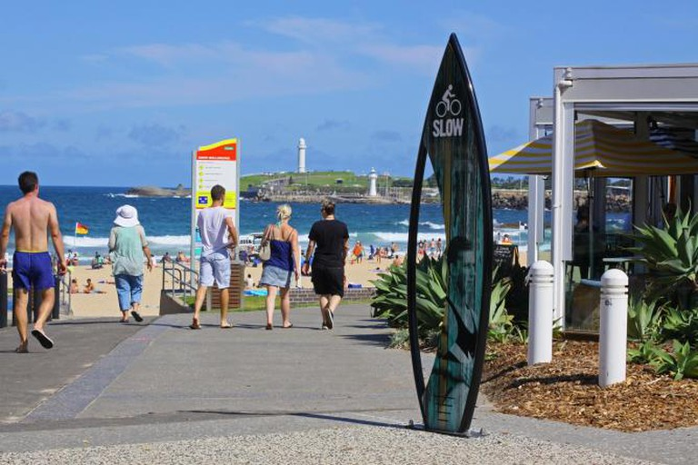 Wollongong, Australia, Surf Town