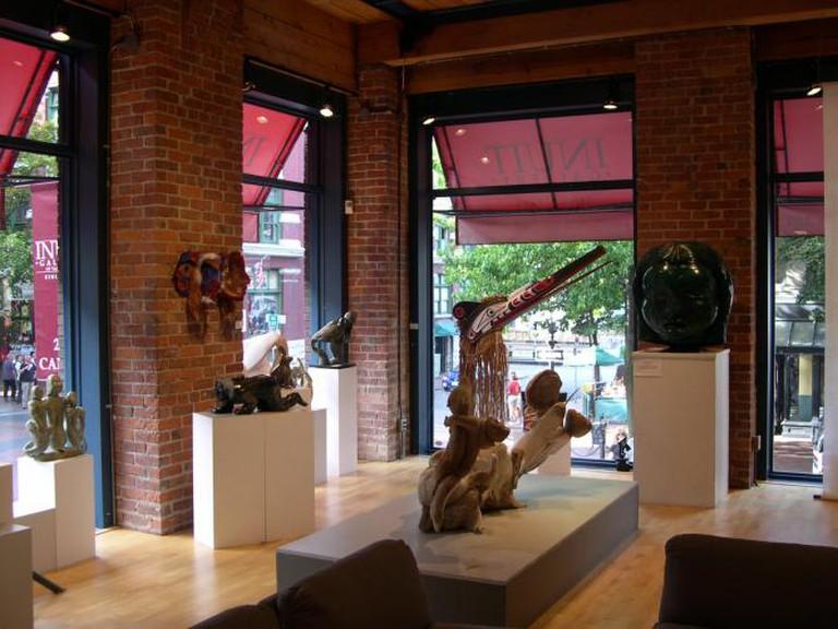 Inuit Gallery Vancouver Art Gastown