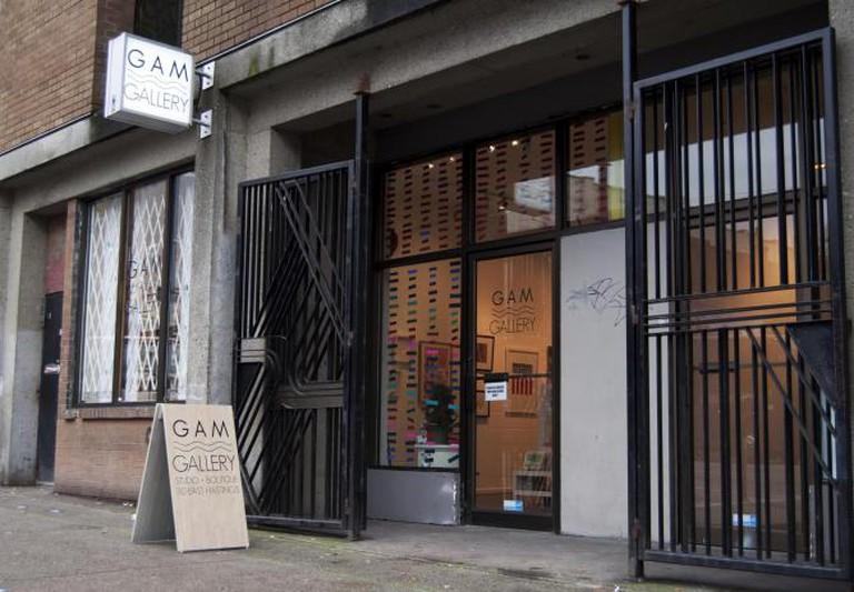 Gam Gallery Art Gastown Vancouver