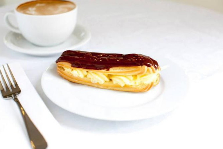 Eclair | Courtesy of Belle Pastry