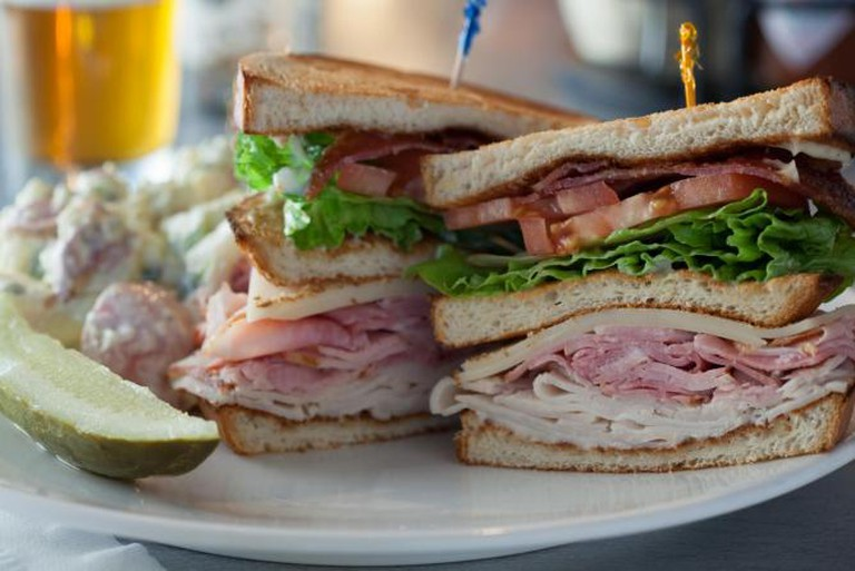 Signature sandwich | Courtesy of Bellevue Brewing Compnay
