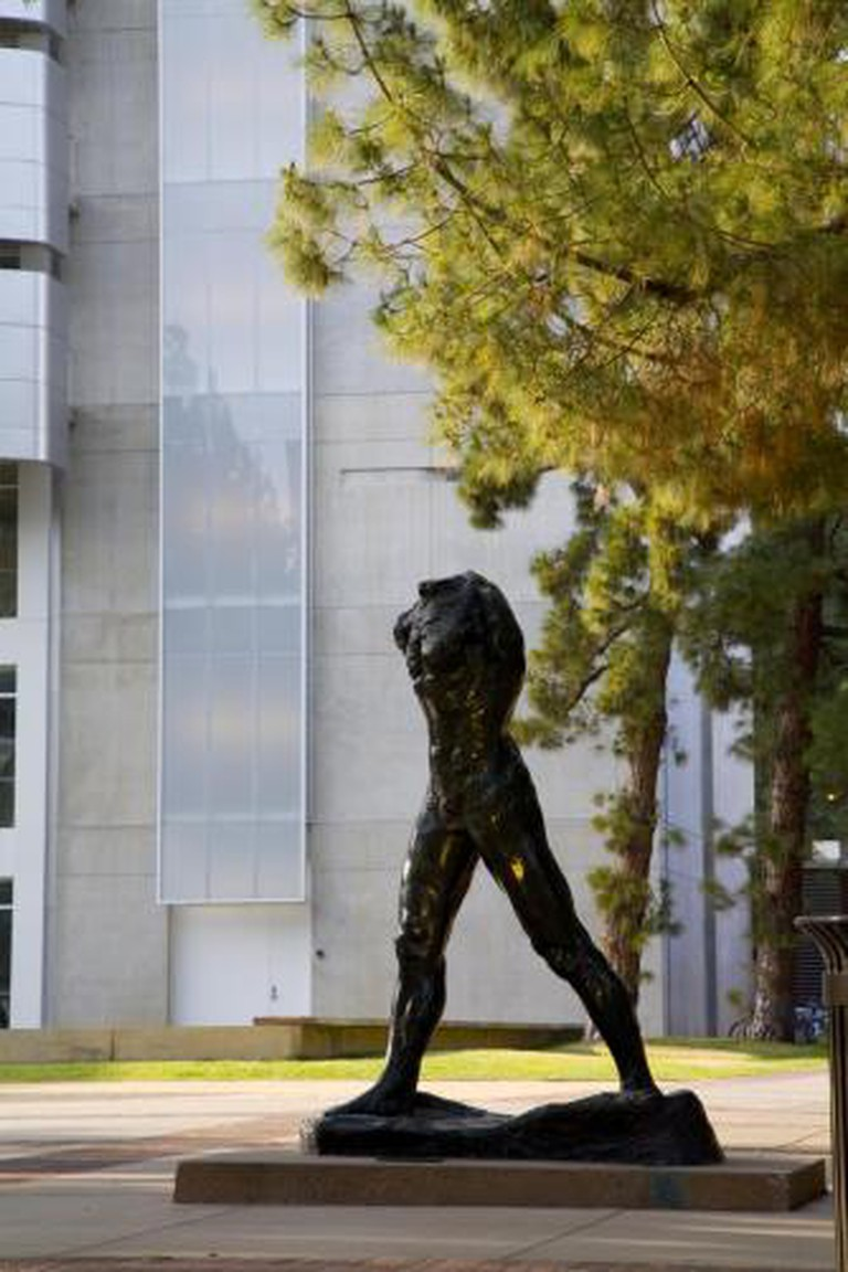 The Walking Man by Auguste Rodin | © Photo: Joshua White Courtesy: Hammer Museum