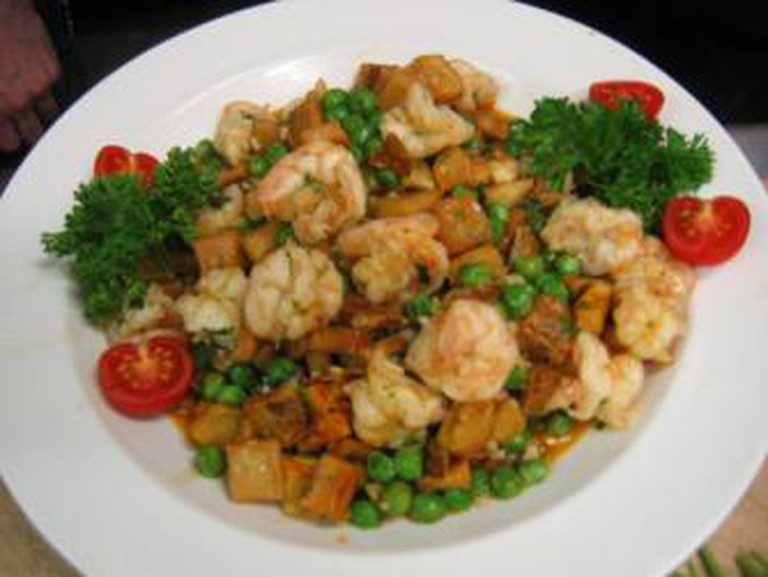 Shrimp Clemenceau / Courtesy of Dooky Chase's Restaurant