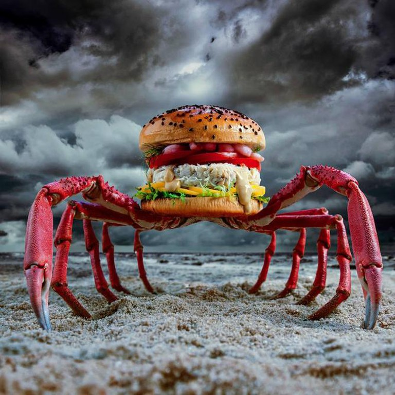 Crabzilla | Courtesy Fat and Furious Burger