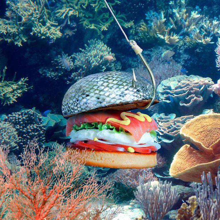 Ocean Burger | Courtesy Fat and Furious