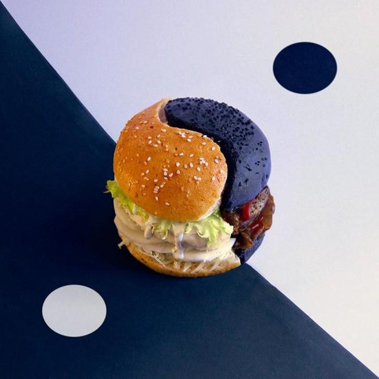 Ying and Yang Burger | Courtesy Fat and Furious Burger