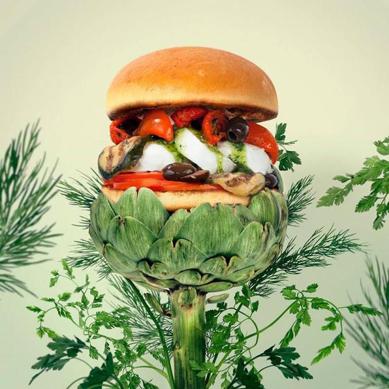 Go Green Burger | Fat and Furious Burger