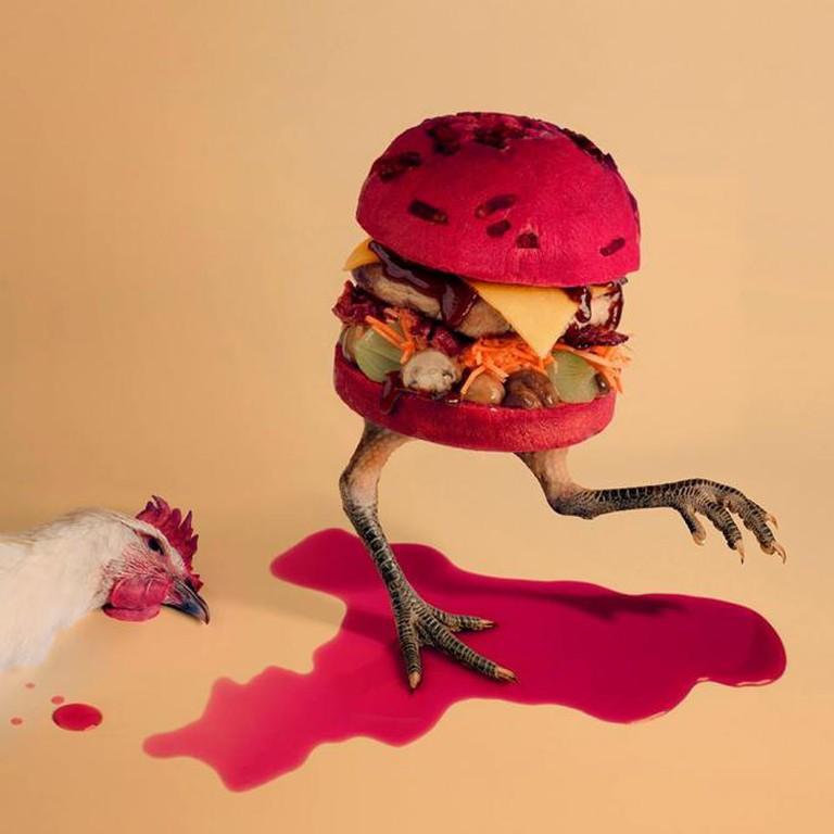 Coq au Vin Burger | Courtesy Fat and Furious Burger