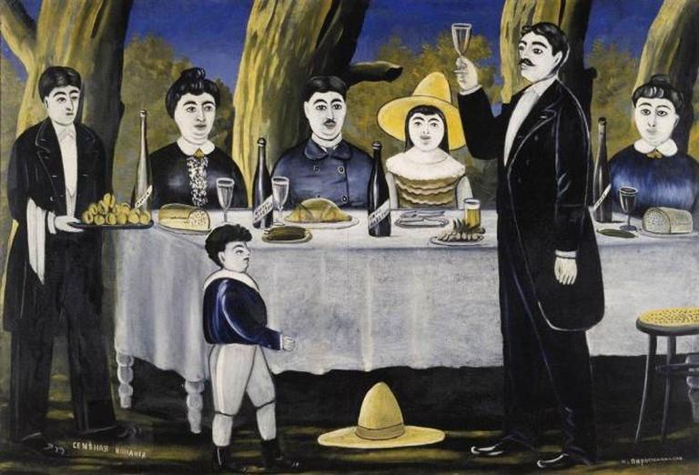 Niko Pirosmani, Georgian Feast