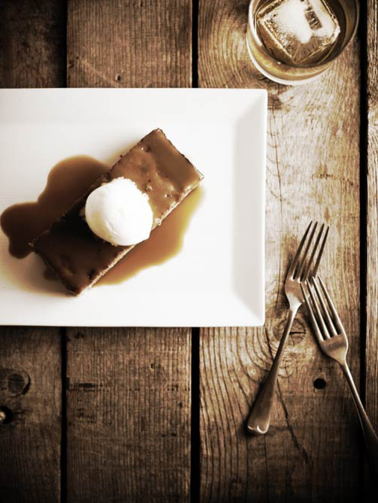 Sorghum Toffee Pudding at Table and Main | © Lain Bagwell