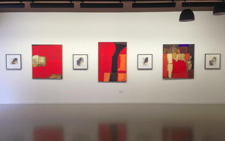Installation view, Vyacheslav Mikhailov