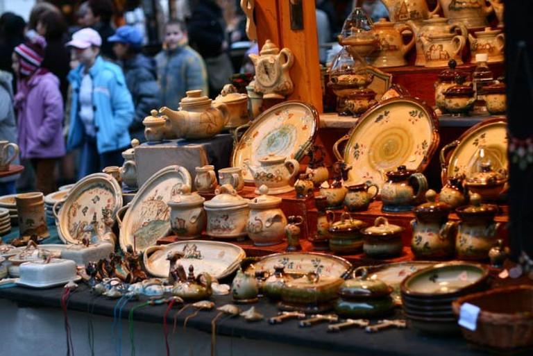 Crafts at the Budapest Christmas Market  © Peter Békési/Flickr