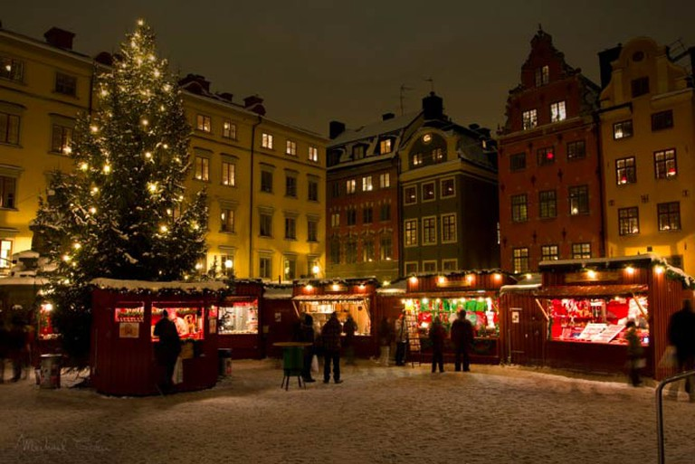 Christmas in Stockholm's Old Town | © Michael Caven/WikiCommons
