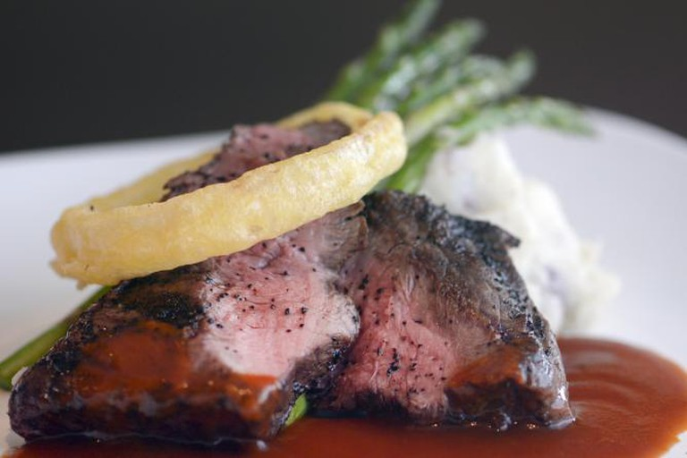 Paniolo Flat Iron Steak | Courtesy of Tommy O's