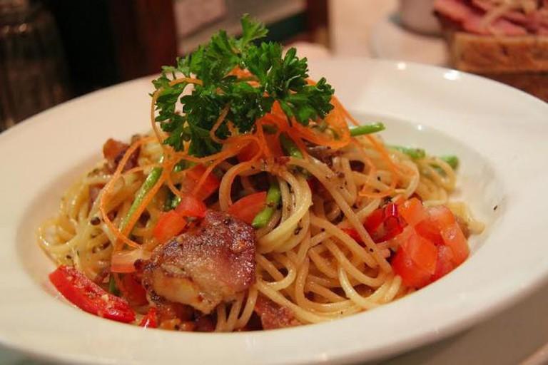 Italian food © sharonang/pixabay