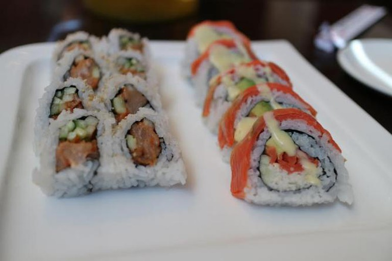 Salmon rolls © elsiehui/flickr