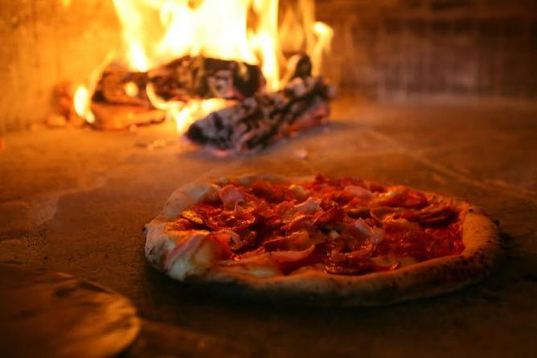 Wood Fired Pizza | Courtesy of Dough Pizzeria