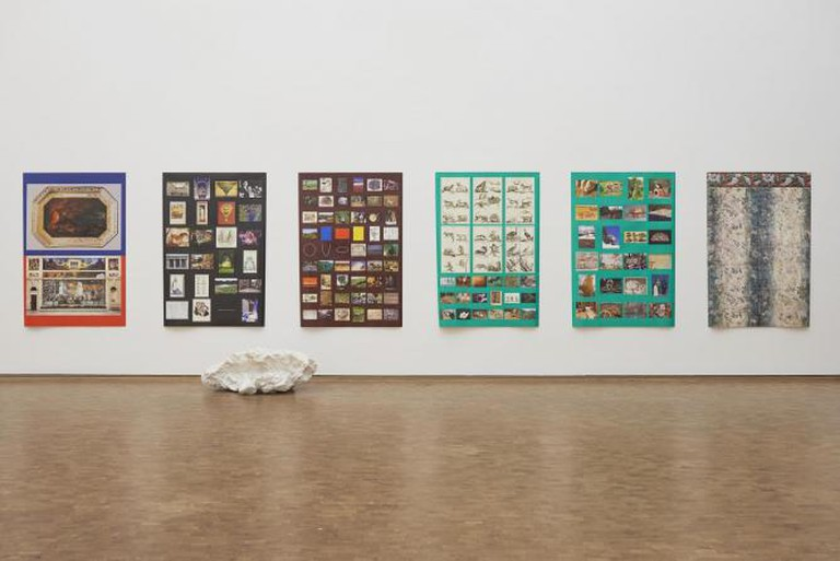 Andrea Büttner, installation view Museum Ludwig Cologne
