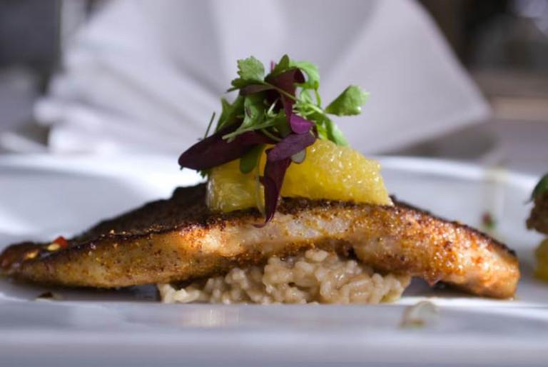 Satsuma Crusted Fish