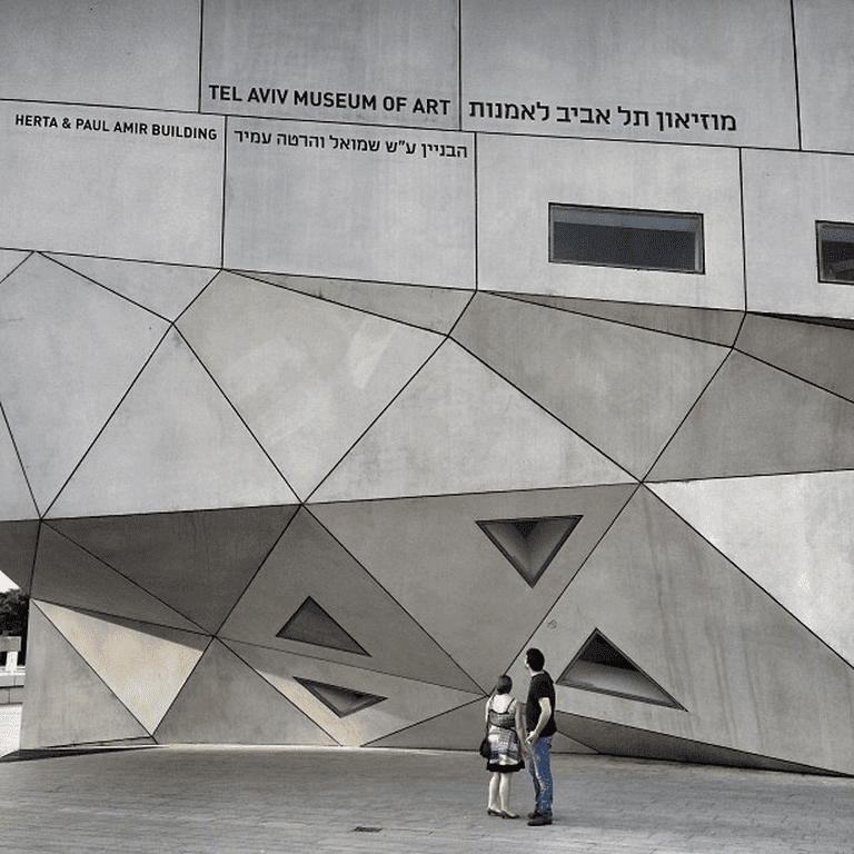 Tel Aviv Museum of Art | © David Basulto/Courtesy of Flickr