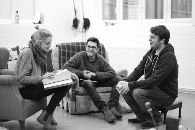 Rehearsal Play Barney Norris Visitors