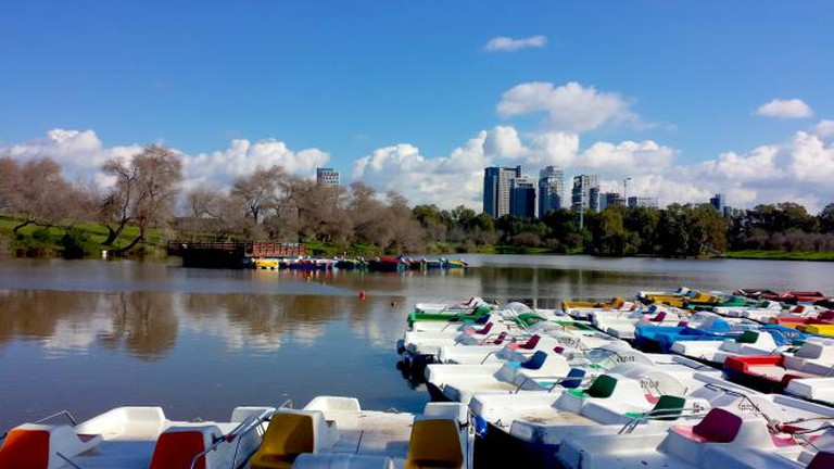 HaYarkon Lake | © Sydney Dratel 2015