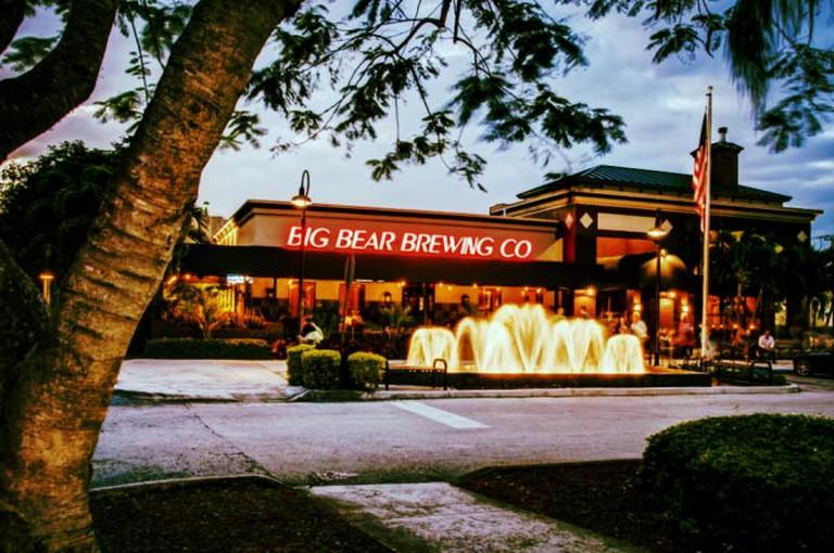Big Bear Brewing Co Exterior | Courtesy of Big Bear Brewing Co